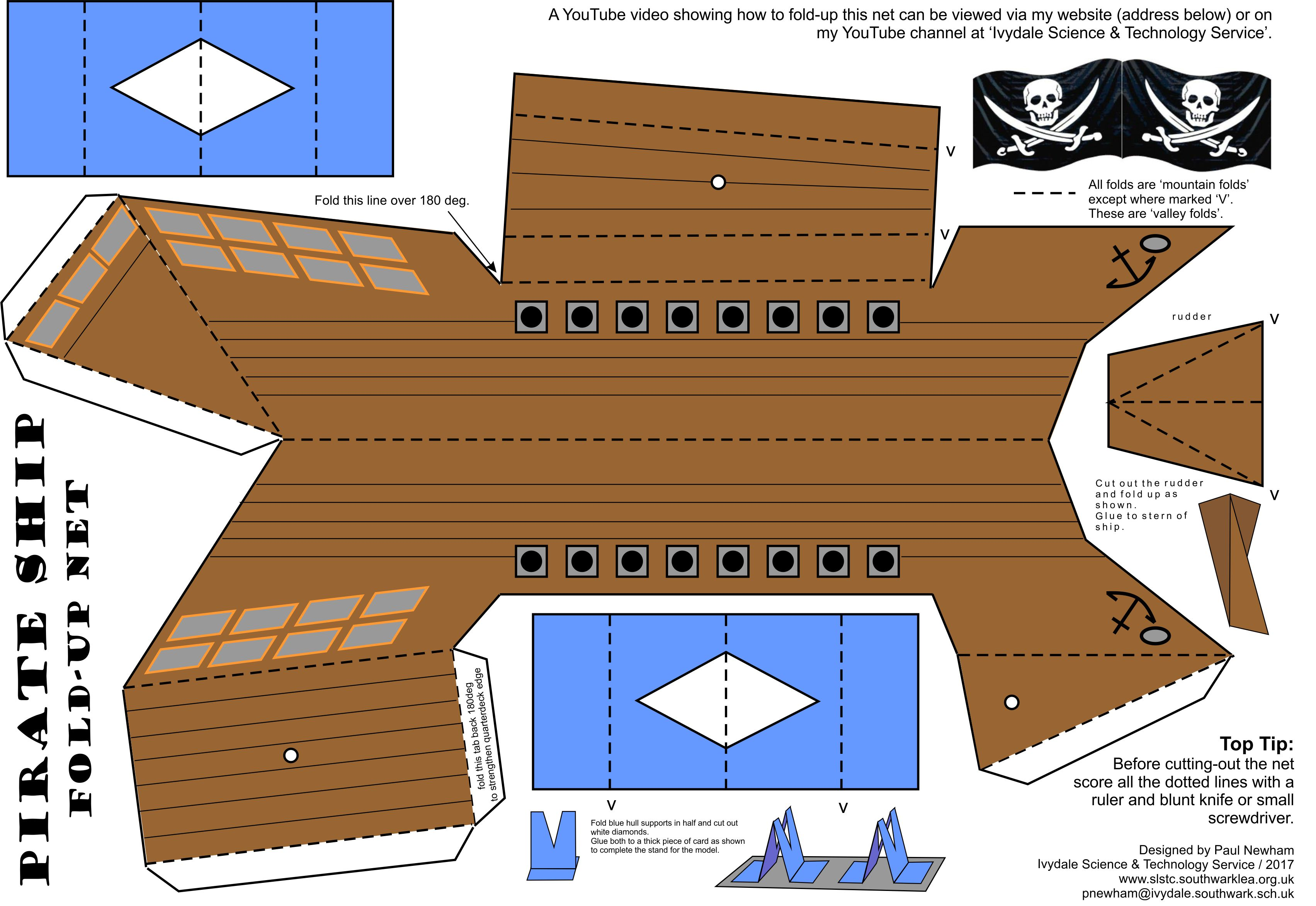 cardboard pirate ship template - fine pirate ship templates festooning example resume and