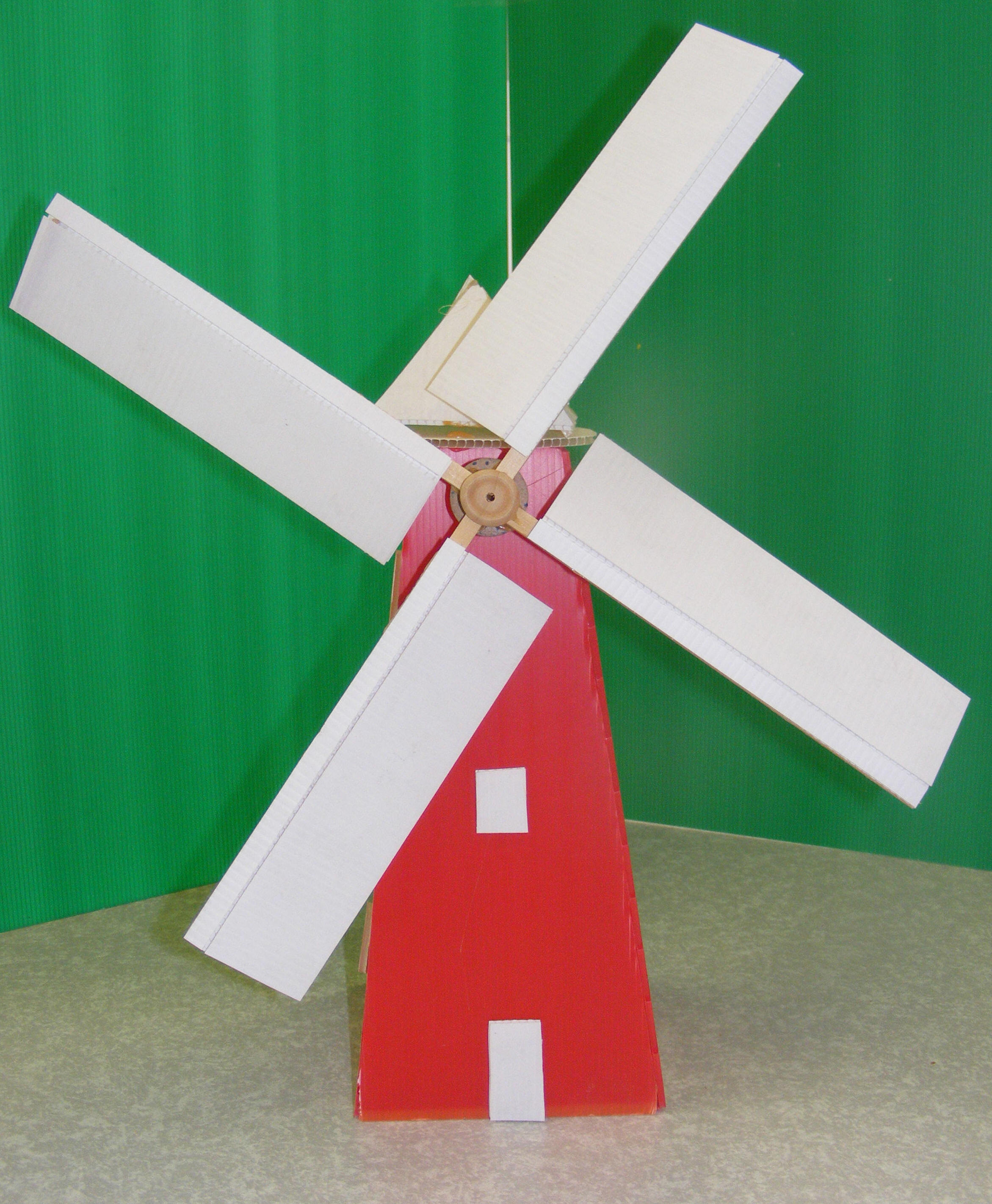 windmill research paper Wind turbine paper  windmill reached its summit and was a common sight in towns and villages the first use of a windmill to generate electricity was by charles f.