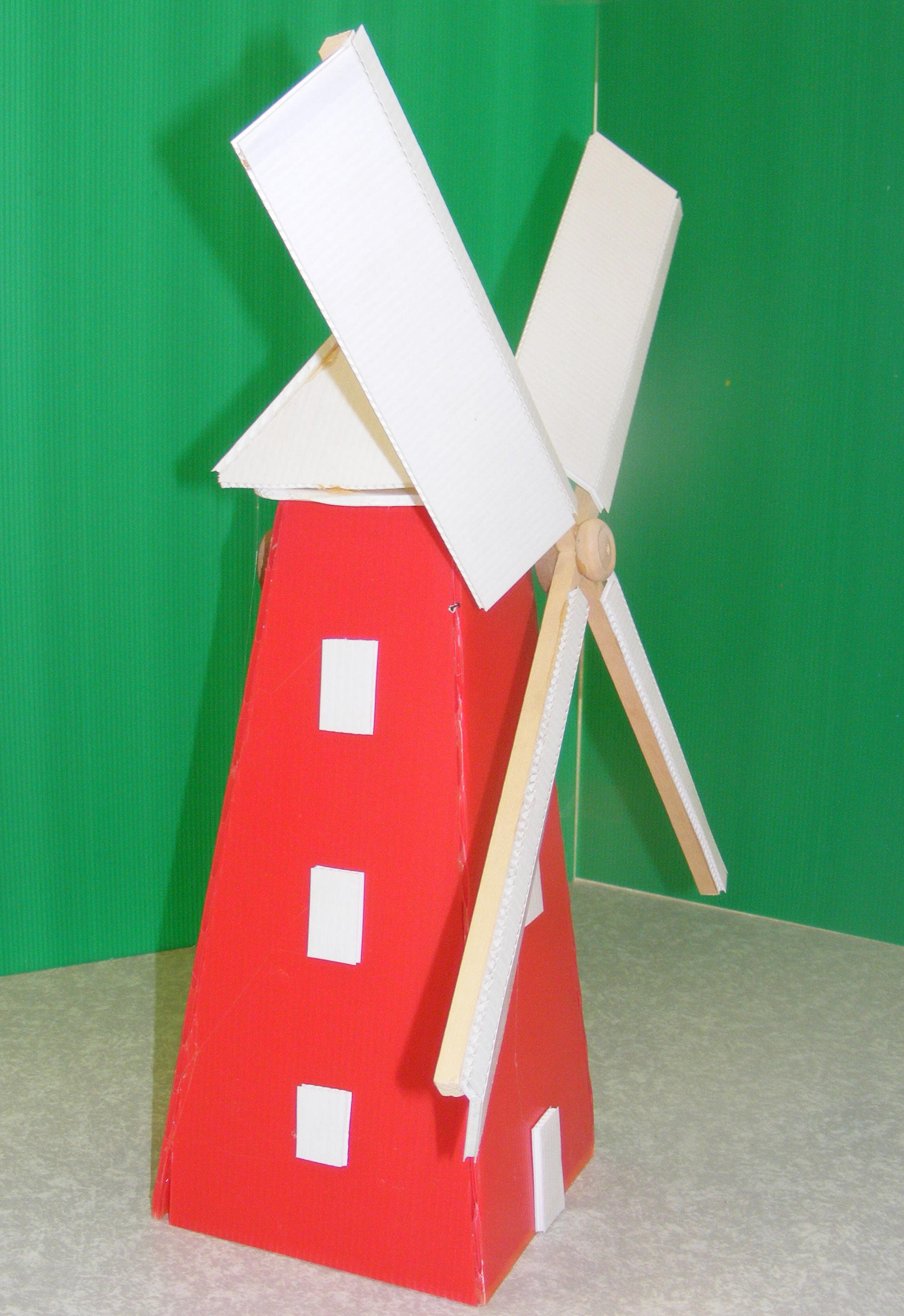 Traditional windmill: